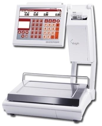 Весы с термопринтером Bizerba КН 800 - купить по доступной цене в интернет магазине Элайтс в Москве