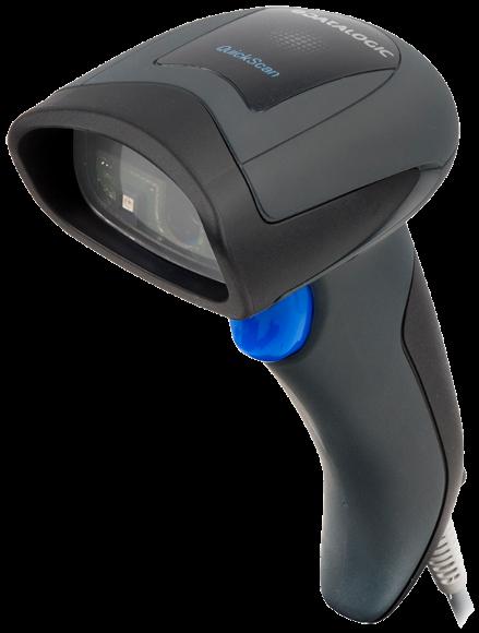 Ручной сканер штрих-кода Symbol DS4208 USB Kit  с кабелем USB (черный)