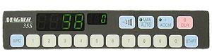 Панель управления счётчика Magner 35S