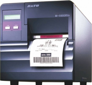 фото Принтер штрих-кодов SATO M5900RVe Printer with Dispenser, WW5900202